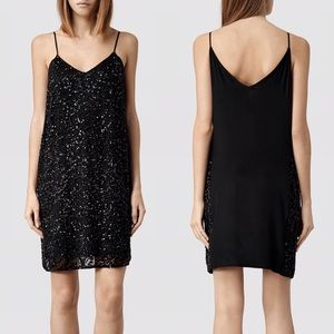 Allsaints Elixer dress size UK 8 US 4